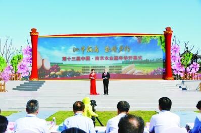 南京农业嘉年华在八卦洲开幕